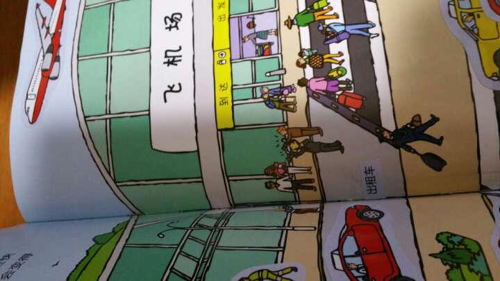 热热闹闹的飞机场(英国幼儿经典全景贴纸书) 晒单图