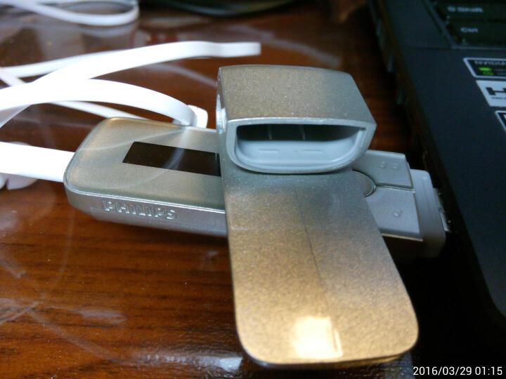 飞利浦(PHILIPS)SA5MXX04RFC MP3播放器 直插式录音笔U盘 红色 晒单图