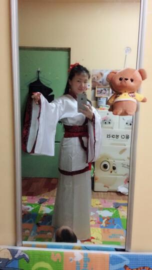 唐装戏服古装服装女仙女唐朝古代汉服演出服古典舞蹈公主贵妃女装 红花红裙 M(建议身高160-168) 晒单图