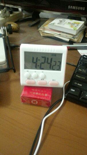贝芙丽 大声音屏幕电子定时器  厨房提醒器 倒计时器 可爱闹钟定时钟 粉色 晒单图
