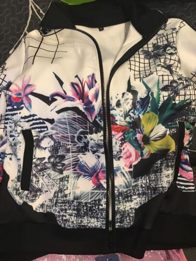 XTAT 2018年夏季新款修身运动休闲套装 女装服装运动服套装居家跑步休闲运动服 黑色 XL 晒单图