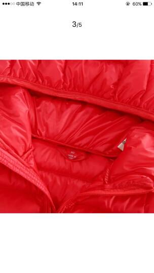 IK 印象童年品牌童装冬新款男童冬装儿童羽绒服中小童时尚轻薄型羽绒外套男女宝衣服 红色 110建议身高100cm-108cm左右 晒单图
