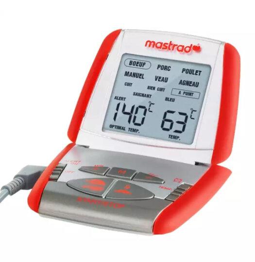 mastrad 烘焙温度计 法国Mastrad糖浆探针温度计 精准烤箱温度计烘焙工具 红色温度计 晒单图