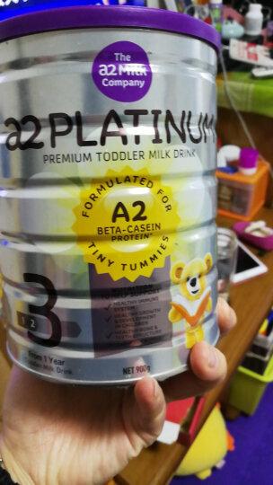 澳洲a2 Platinum  白金版婴幼儿奶粉4段900g(3-6岁)新西兰原装进口 晒单图