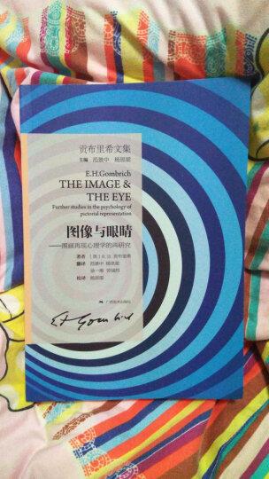 贡布里希文集:图像与眼睛 图画再现心理学的再研究 晒单图