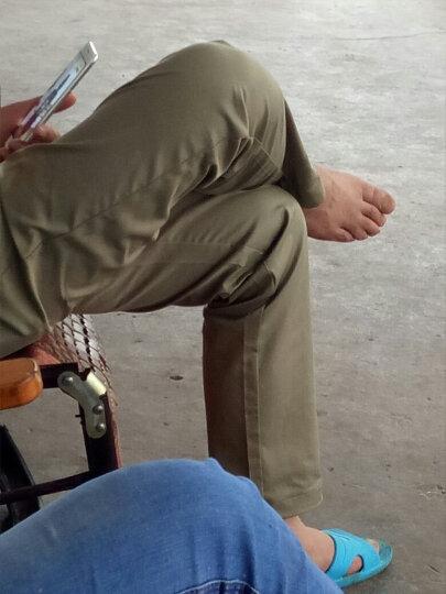 伯希和(Pelliot)速干裤 户外男女薄款休闲裤运动裤快干长裤 休闲裤子透气登山快干裤 男款卡其色 L 晒单图