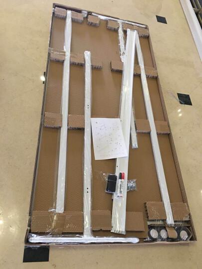 比比牛 金刚90*180cm双面带架白板BBNO90180W 轻松翻转移动办公白板架 晒单图