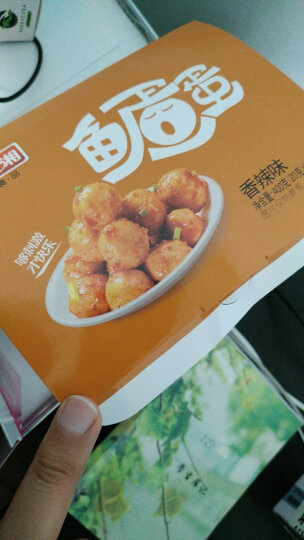 渔米之湘 鱼蛋蛋400g即食鱼丸 丸子零食湖南特产辣味小吃批发 鱼蛋蛋(香辣味) 晒单图