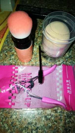 美卡芙优 睫毛夹 卷翘假睫毛广角眼睫毛夹卷翘器替换垫 粉色柄 晒单图