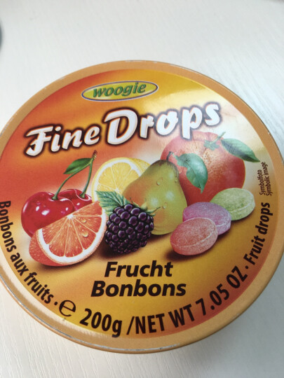 woogie 进口糖果水果糖铁盒装综合水果味咖啡柠檬野莓樱桃薄荷 晒单图