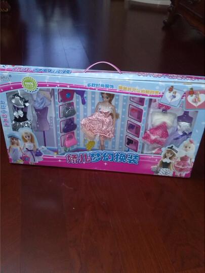 DDUNG/冬己 韩国迷糊娃娃玩具饰品摆件女孩过家家益智玩具 黑裙妹妹 晒单图