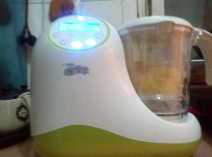 喔喔牛宝宝辅食研磨器婴儿辅食料理机蒸制搅拌多功能一体机TB-1102s 晒单图