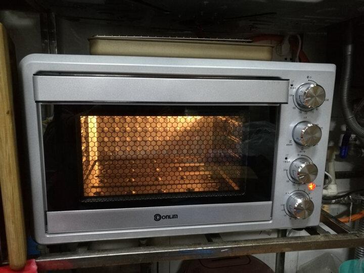 东菱(Donlim)38升/L 电烤箱 黑科技平板烤立方 双层玻璃门 搪瓷内胆 家用烘焙 DL-K38E 晒单图