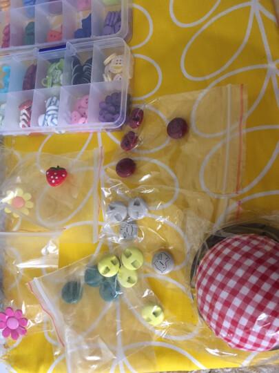 纽扣 DIY卡通彩色向日葵蔬菜水果儿童环保幼儿园钮扣毛衣扣子 黄色老虎 晒单图
