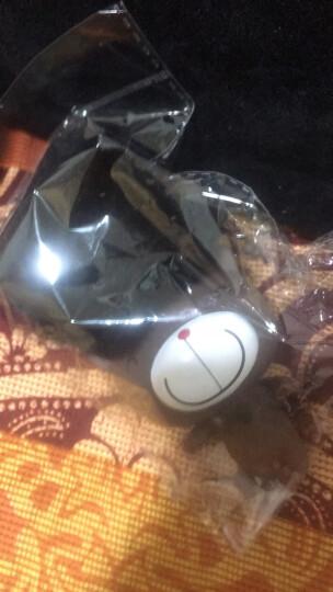 泰瑞和-韩版獭兔毛球车内柔软挂饰卡通搪胶公仔女包钥匙链 摩斯娃娃+粉毛球 晒单图