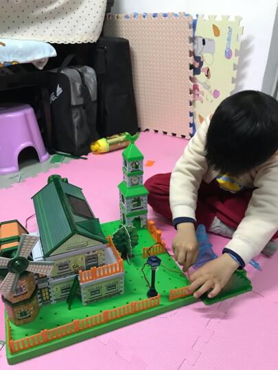 GREENEX儿童物理电路stem科学实验小学生科技小制作科普8-10-12岁太阳能玩具绿色能源房子 晒单图