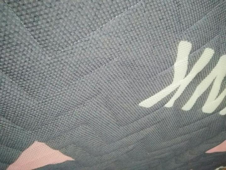床褥子薄加厚单双人学生宿舍榻榻米海绵透气床垫子可折叠定制 海洋之星-6cm 150cm*200cm 晒单图