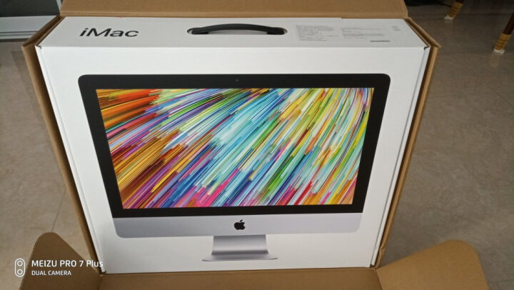 Apple iMac 27英寸一体机(2017款四核Core i5/8GB内存/1TB Fusion Drive/RP570显卡/5K屏 MNE92CH/A) 晒单图