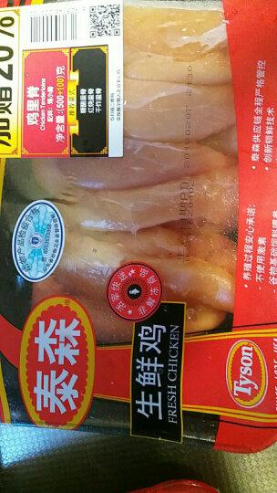 【冷鲜肉】泰森(Tyson) 新鲜鸡小胸 500g/袋 烧烤 健身 晒单图