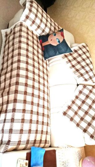 绿幽谷沙发垫套装防滑坐垫冬季通用沙发垫子四季毛绒沙发套罩巾椅垫飘窗垫窗台垫 流年卡其 单条70*150cm 晒单图