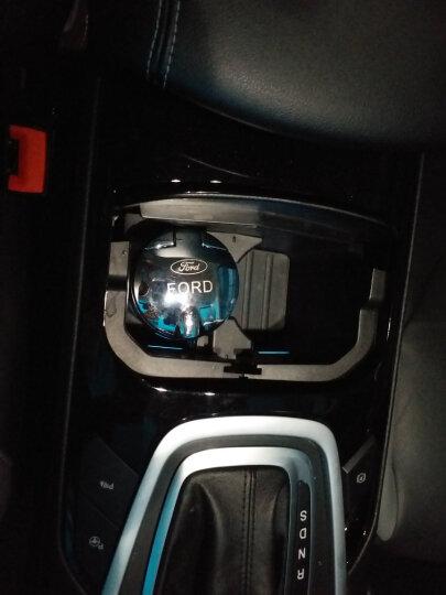 車格仕 车载烟灰缸带盖led灯 汽车用品创意通用车内杂物盒 黑色 福特福睿斯17款新翼虎野马 晒单图