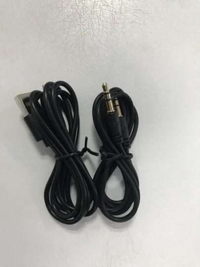 毕亚兹 HDMI转VGA线转换器带音频口供电口 高清视频转接头 10系显卡电脑盒子连接投影仪电视显示器 ZH31-黑 晒单图