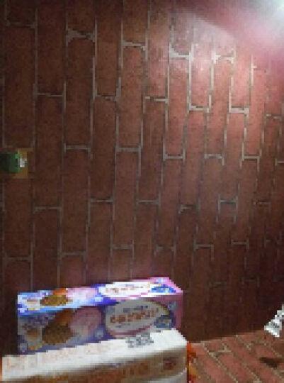 虹语馨 10米装 现代简约欧式加厚PVC自粘墙纸墙壁自粘纸带胶卧室客厅书房电视背景墙壁贴纸墙贴 黑白格子 0.45*10米 晒单图