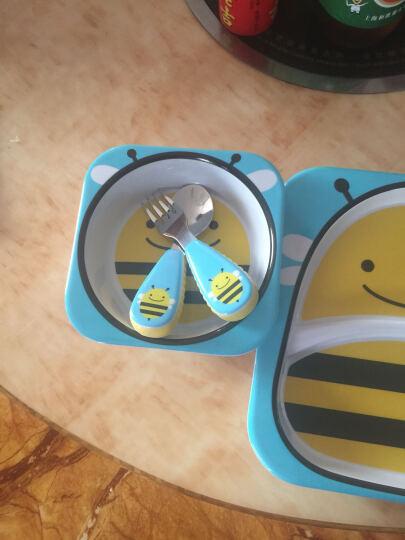 SKIP HOP Skip Hop仿瓷婴儿喂养喂哺盘 宝宝餐具餐碗餐盘套装 多图案可选 长颈鹿款 晒单图