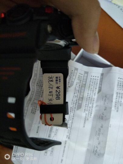 时刻美 skmei 儿童手表男孩运动跑步双显夜光电子表 0990黑色小号 晒单图