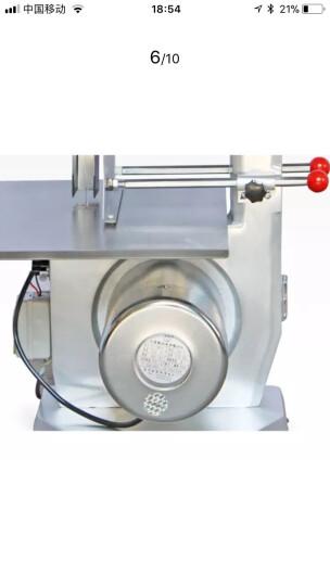 乐创(lecon) 台式剁骨机 排骨机切割骨机 锯骨机商用 锯骨机LC-J250 晒单图