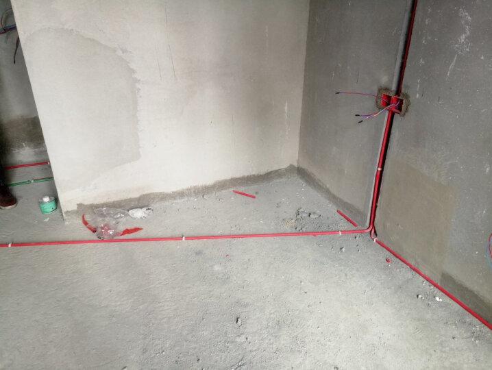 飞雕(FEIDIAO)电线电缆 BV4平方 国标家用铜芯电线单芯单股铜线100米 蓝色零线 晒单图