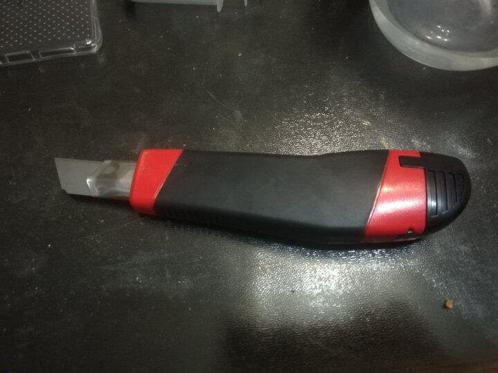 晨光(M&G)文具18mm大号美工刀 裁纸刀自动锁壁纸刀(内含2个刀片) 单个装颜色随机ASS91315 晒单图