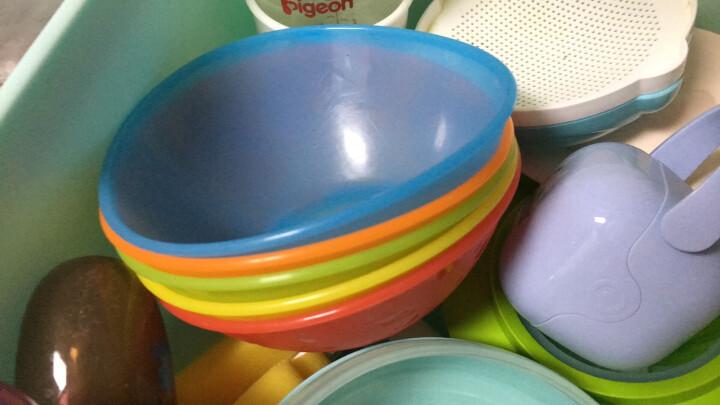 Munchkin满趣健 儿童餐具防摔碗五色小船碗辅食碗 5只装 晒单图