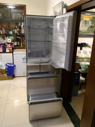 松下(Panasonic)405升日本进口多门冰箱  自动制冰 变频风冷无霜 银离子抗菌脱臭 NR-EC43VG-N5 晒单图