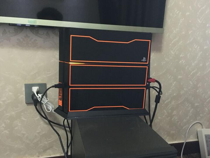 闪狐(SparkFox)PlayStation4 无线游戏手柄专业双充电座 黑色 晒单图