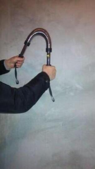 捷昇 电镀臂力棒臂力器家用练臂肌握力棒扩胸器 60KG 晒单图