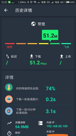 中国联通(China Unicom) 广西联通宽带办理20M/50M/100M宽带新装 50M包1年 晒单图