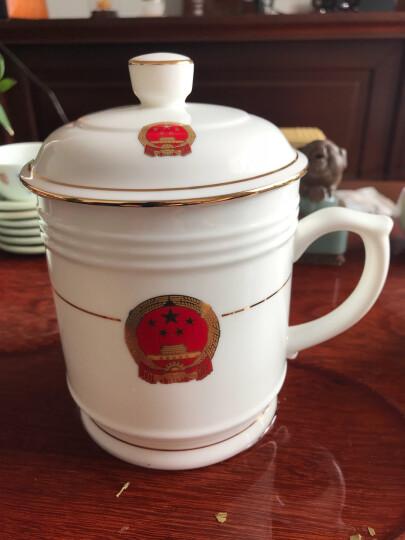 景德镇骨瓷茶杯套装 烟灰缸 咖啡杯 笔筒 水杯 可印各种 LOGOSN7537 国徽英式咖啡杯 晒单图