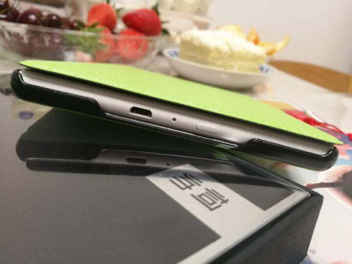 柯帅 kindle保护套 558/X 咪咕亚马逊电子书阅读器电纸书 蚕丝纹草木绿 晒单图