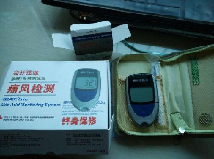 会好优速型 尿酸/血糖测试仪 家用测血糖仪血糖试纸尿酸试纸 25片血糖试纸+针头 晒单图