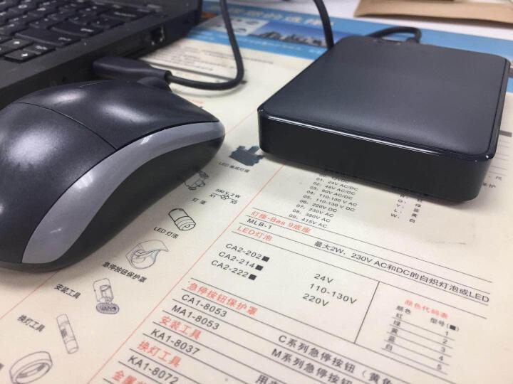 西部数据(WD) Elements 新元素系列 2.5英寸 USB3.0 移动硬盘 2TB(WDBU6Y0020BBK) 晒单图