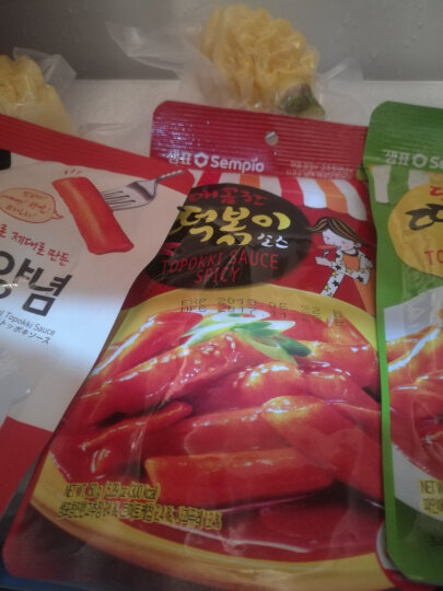 韩国进口 膳府 炒年糕酱(香辣) 韩式香辣年糕酱 150g 晒单图