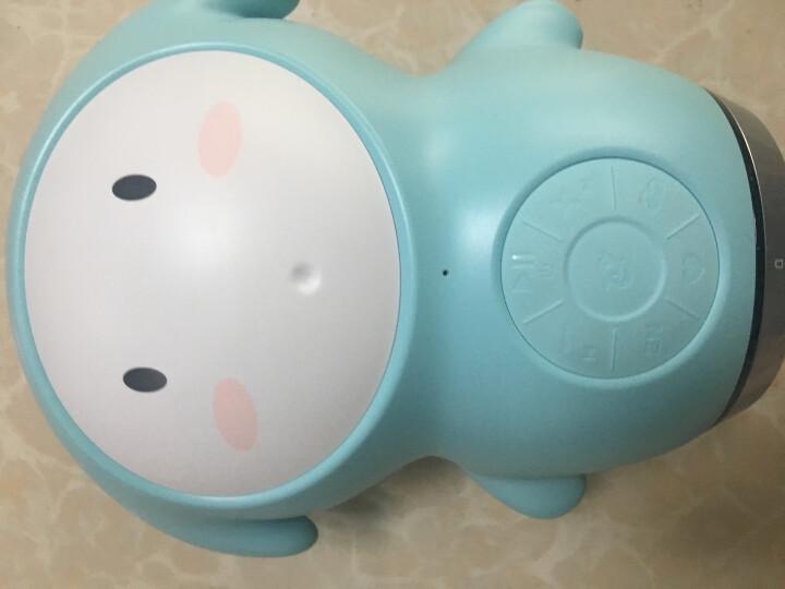 巴巴腾智能机器人 wifi故事机婴幼宝宝益智玩具0-3-6-9岁儿童音乐语音聊天陪伴学习可联 白+蓝 晒单图