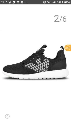ARMANI/阿玛尼男鞋 EA7系带网布休闲运动鞋 248050 CC299 黑色 7/40 晒单图