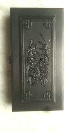 舒香墨艺 红木首饰盒木质饰品盒 木雕工艺品 木盒子收纳盒 二牛踏春(红酸枝)大号 晒单图