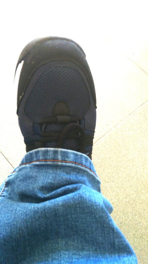 千户狼男鞋 春季休闲鞋运动鞋男板鞋皮鞋大码跑步鞋男士雪地靴子韩版加厚保暖棉鞋子男1668 深蓝 39 晒单图
