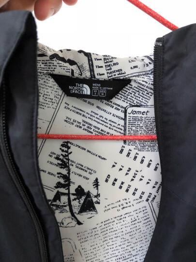 北面(The North Face)冲锋衣男 18秋冬新品防水透气耐磨户外徒步男冲锋衣 366T 7YD/黑色 M/170 晒单图