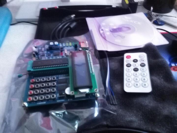 酷道51单片机开发板 智能小车入门学习实验板初级版送液晶屏传感器 晒单图