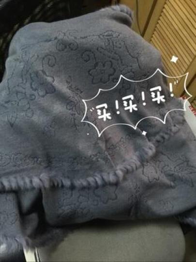菲玫思 新款时尚针织衫女开衫斗篷披肩披风毛衣外套女 HY6906 大红色 晒单图