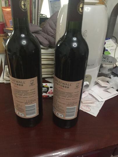 国产红酒 中粮长城三星赤霞珠干红葡萄酒 普通三星750ml*2瓶 晒单图